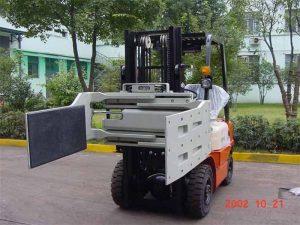 Çin Hidravlik Effektiv Forklift Yük maşını Əlavələri Çox Məqsədli Qapaq