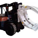 Forklift əlavələri 360 Fırlanma Tək Silah Kağız Roll Qoşqular