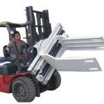 Bale Clamp Forklift Əlavələri Tullantı Kağız Bale Qıvrım