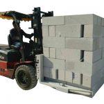 Hidravlik forklift Beton kərpic / blok qaldırıcı qısqac