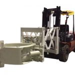 Forklift Təkərlər Əlavəsi Teleskopik Şin Qapaqlar