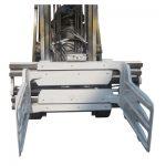Forklift Fırlanan Bale Clamp
