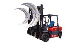 Forklift Swing Çərçivə Kağız Roll Qapaq