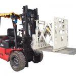 Forklift itələyici əlavəsi, forklift itələyici qoşması