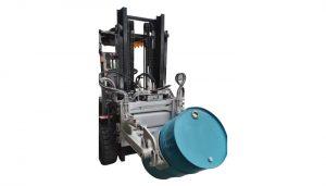 Forkliftlər üçün hidravlik forklift 55 Ggallon baraban sıxacı
