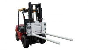 Side Shifting Bar Arm qolkökü ilə Forklift