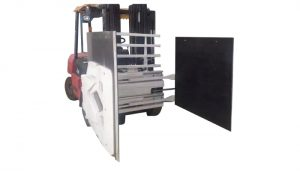 Forklift yük maşını üçün karton qısqac, Forklift qoşması Karton qısqac, Karton İşləyən.