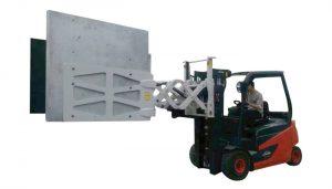 Forklift elektron məişət texnikası kağız karton sıxaclar