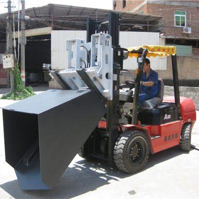 3 tonluq Hyundai Dizel Forklift Əlavəsi Kovası Çəngəl və Çömçə