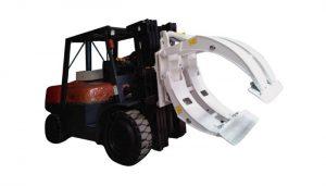 Material Handling Equipment Forklift Kağız Roll Qapağı